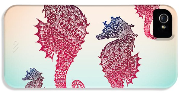 Seahorse IPhone 5 / 5s Case by Mark Ashkenazi