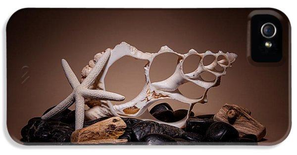 Seashells On The Rocks IPhone 5 / 5s Case by Tom Mc Nemar