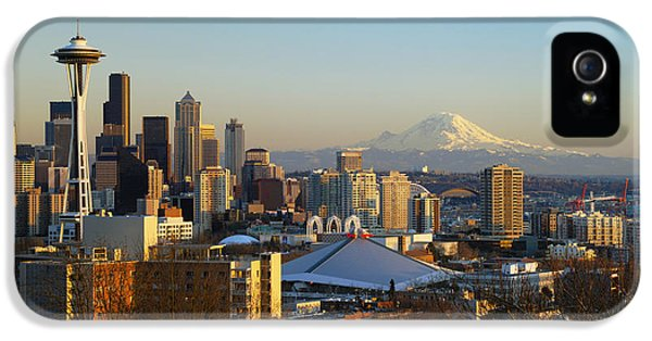 Seattle Cityscape IPhone 5 / 5s Case by Greg Vaughn - Printscapes