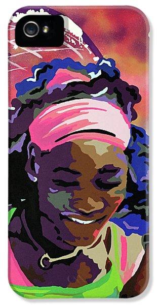 Serena IPhone 5 / 5s Case by Chelsea VanHook