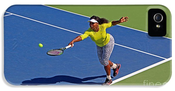 Serena Williams 1 IPhone 5 / 5s Case by Nishanth Gopinathan