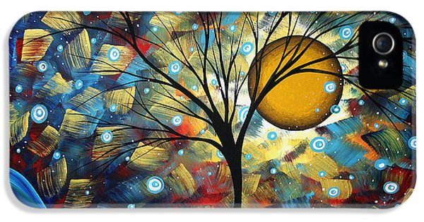 Bold iPhone 5 Cases - Serenity Falls by MADART iPhone 5 Case by Megan Duncanson