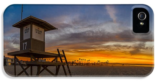 Newport Beach iPhone 5 Cases - Seventeen Youre Clear for Takeoff iPhone 5 Case by Sean Foster