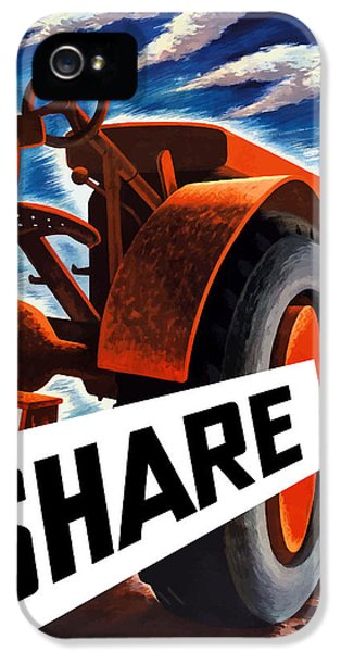 Tractor iPhone 5 Cases - Share iPhone 5 Case by War Is Hell Store