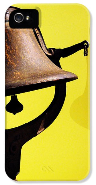 History iPhone 5 Cases - Ships Bell iPhone 5 Case by Rebecca Sherman