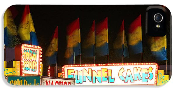 Signs Of Food At The Carnival IPhone 5 / 5s Case by James BO  Insogna