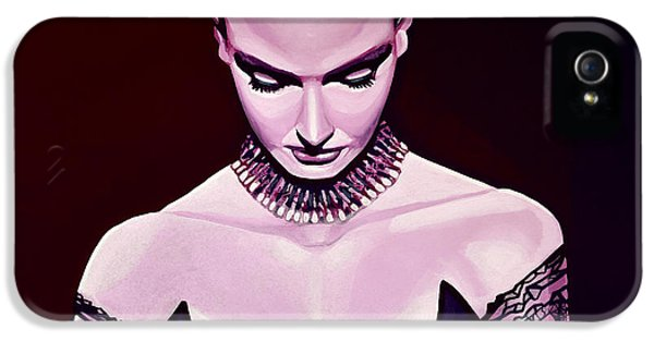 Fire Works iPhone 5 Cases - Sinead OConnor iPhone 5 Case by Paul Meijering