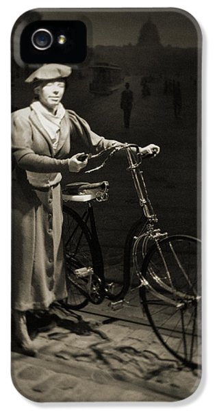 National Museum Of America History iPhone 5 Cases - Smithsonian Institute Bicycle iPhone 5 Case by Kyle Hanson