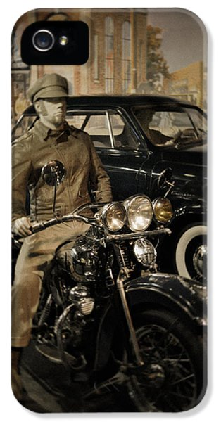 National Museum Of America History iPhone 5 Cases - Smithsonian Institute Motorcycle iPhone 5 Case by Kyle Hanson