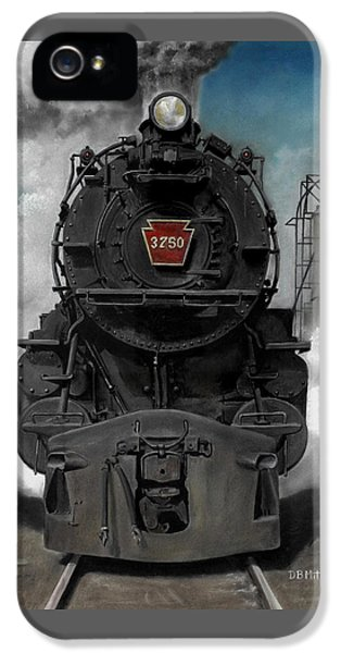 Smoke And Steam IPhone 5 / 5s Case by David Mittner