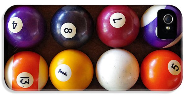 Challenge iPhone 5 Cases - Snooker Balls iPhone 5 Case by Carlos Caetano