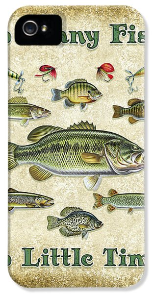 So Many Fish Sign IPhone 5 / 5s Case by JQ Licensing