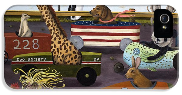 Soap Box Derby IPhone 5 / 5s Case by Leah Saulnier The Painting Maniac