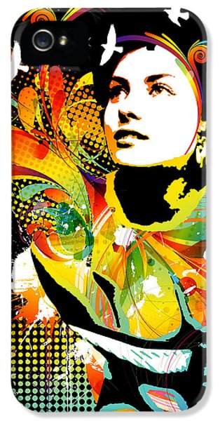 Modern Abstract iPhone 5 Cases - Soul Explosion II iPhone 5 Case by Chris Andruskiewicz