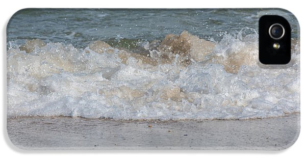 Sparking iPhone 5 Cases - Sparking Ocean Wave Jersey Shore iPhone 5 Case by Terry DeLuco