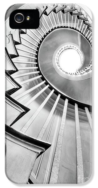 Hdr iPhone 5 Cases - Spiral Staircase Lowndes Grove  iPhone 5 Case by Dustin K Ryan