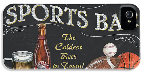 Sports Bar IPhone 5 / 5s Case by Debbie DeWitt