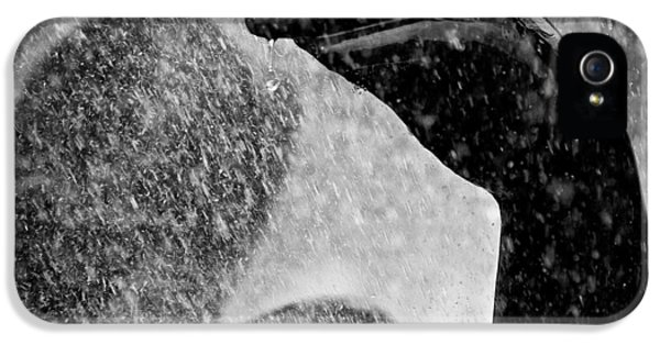Raining iPhone 5 Cases - Spray iPhone 5 Case by Dave Bowman