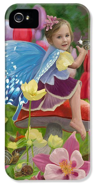 Spring Fairy IPhone 5 / 5s Case by Lucie Bilodeau
