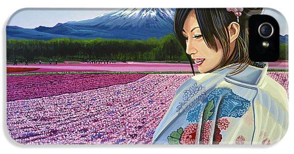 Heritage iPhone 5 Cases - Spring in Japan iPhone 5 Case by Paul Meijering