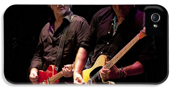 Jeff Ross iPhone 5 Cases - Springsteen and Grushecky iPhone 5 Case by Jeff Ross