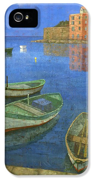 Harbour iPhone 5 Cases - St. Tropez iPhone 5 Case by Steve Mitchell