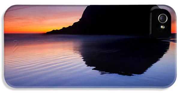 Oregon Coast iPhone 5 Cases - Stack Reflections iPhone 5 Case by Mike  Dawson
