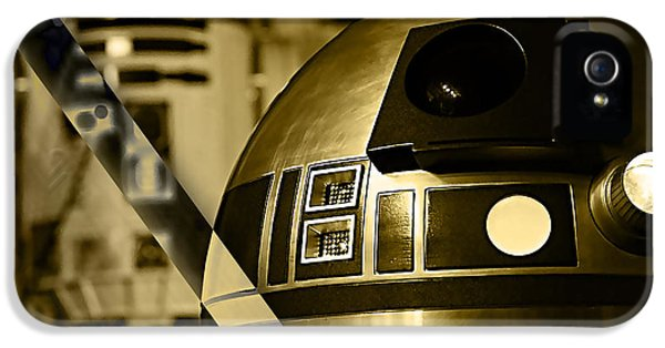 Star Wars R2d2 Collection IPhone 5 / 5s Case by Marvin Blaine
