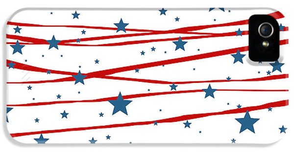 Stars And Stripes IPhone 5 / 5s Case by Marianna Mills