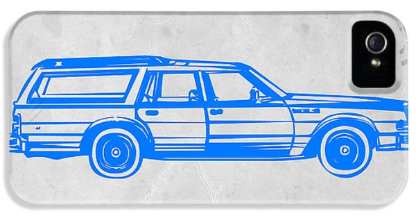 Mid iPhone 5 Cases - Station Wagon iPhone 5 Case by Naxart Studio