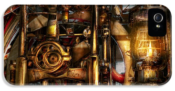 Modern Steampunk iPhone 5 Cases - Steampunk - Mechanica  iPhone 5 Case by Mike Savad