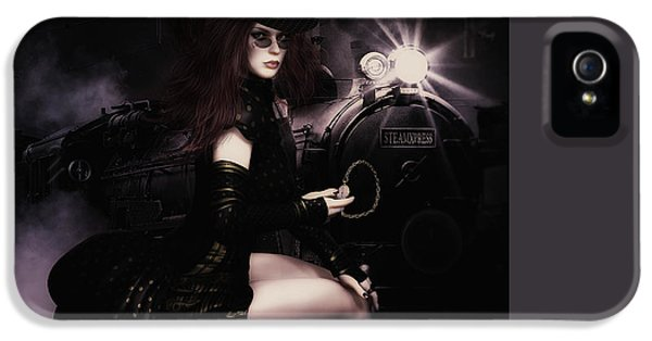 Grunge Style iPhone 5 Cases - SteampunkXpress iPhone 5 Case by Shanina Conway