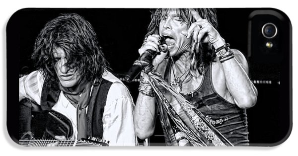 Steven Tyler Croons IPhone 5 / 5s Case by Traci Cottingham