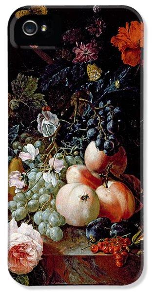 Still Life  IPhone 5 / 5s Case by Johann Amandus Winck