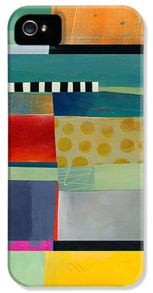 Stripe Assemblage 2 IPhone 5 / 5s Case by Jane Davies