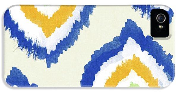 Summer Ikat- Art By Linda Woods IPhone 5 / 5s Case by Linda Woods