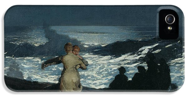 Homer iPhone 5 Cases - Summer Night iPhone 5 Case by Winslow Homer