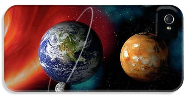 Sun And Planets IPhone 5 / 5s Case by Panoramic Images