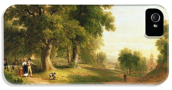Sunday Morning IPhone 5 / 5s Case by Asher Brown Durand