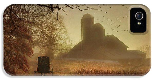 Farmland iPhone 5 Cases - Sunday Morning iPhone 5 Case by Lori Deiter