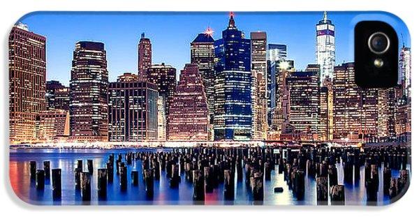 Magic Manhattan IPhone 5 / 5s Case by Az Jackson