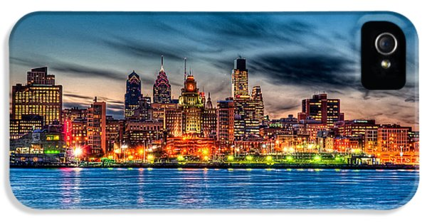 Sunset Over Philadelphia IPhone 5 / 5s Case by Louis Dallara