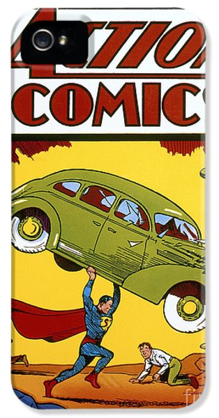 Superman Comic Book, 1938 IPhone 5 / 5s Case by Granger