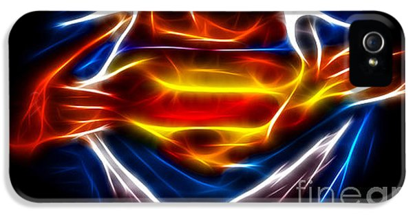 Book iPhone 5 Cases - Superman iPhone 5 Case by Pamela Johnson