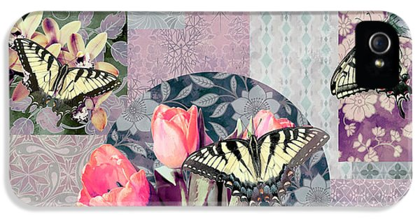 Swallowtail Butterfly 1 IPhone 5 / 5s Case by JQ Licensing