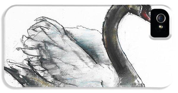 Swan IPhone 5 / 5s Case by Mark Adlington