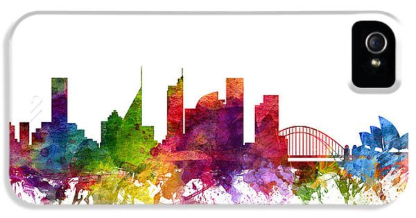 Sydney Australia Cityscape 06 IPhone 5 / 5s Case by Aged Pixel