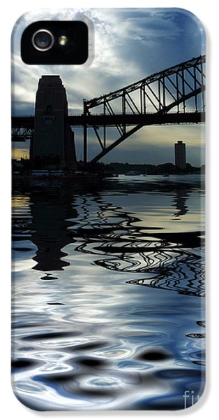 Sydney Harbour Bridge Reflection IPhone 5 / 5s Case by Avalon Fine Art Photography