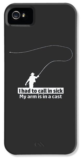 T Had To Call Stick IPhone 5 / 5s Case by Jackie Robinson