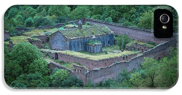 Old Medieval Monastery Tatev IPhone 5 / 5s Case by Hayk Shalunts